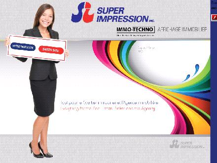Super Impression Inc (514-648-5496) - Onglet de site Web - http://www.superimpression.com