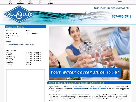 Aqua Tech Supplies & Services Ltd (867-668-5544) - Onglet de site Web - http://aquatechsuppliesandservices.ca/