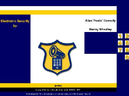 Connolly Security Systems (902-892-5276) - Website thumbnail - http://www.connollysecurity.pe.ca