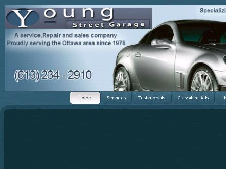 Young St Garage (613-234-2910) - Website thumbnail - http://www.youngstreetgarage.com