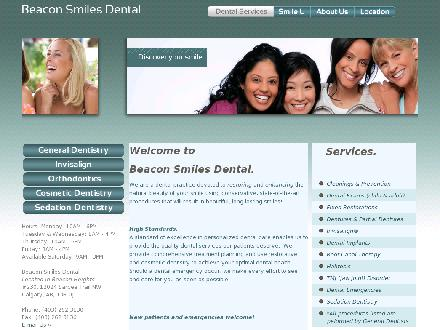 Beacon Smiles Dental (403-262-3130) - Onglet de site Web - http://www.beaconsmiles.ca