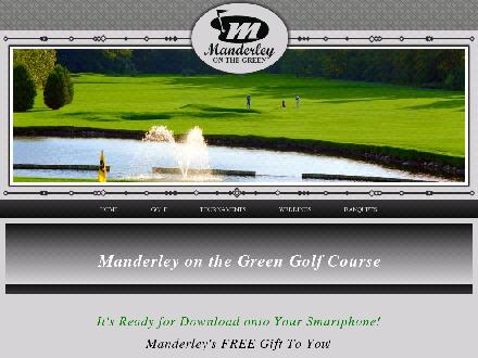 Manderley Golf & Country Club (613-489-2092) - Onglet de site Web - http://www.manderleygolf.com