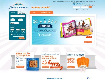 Howard Johnson Express Inn (204-800-7893) - Website thumbnail - http://www.hojo.com