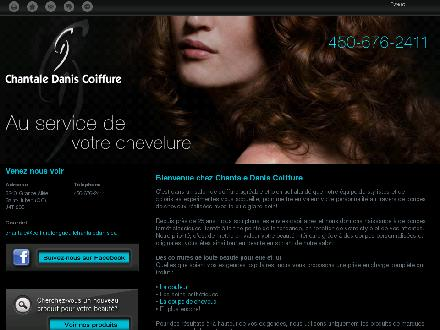 Chantale Danis Coiffure (450-676-2411) - Onglet de site Web - http://coiffurelongueuilchantaledanis.ca