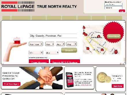 Royal LePage True North Realty (780-743-1137) - Onglet de site Web - http://www.royallepagetruenorth.ca