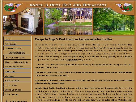 Angel's Rest Bed & Breakfast (705-741-0500) - Onglet de site Web - http://www.angelsrestbbsuites.com