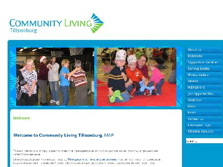 Tillsonburg Children's Centre (519-842-9000) - Website thumbnail - http://www.communitylivingtillsonburg.ca