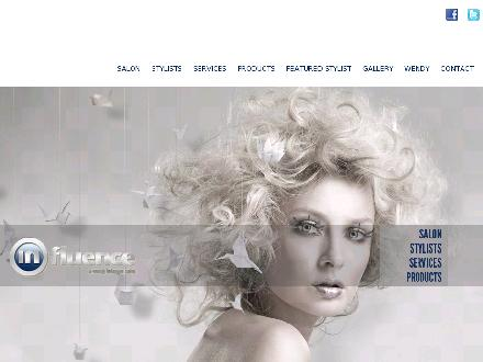 Influence Salon (403-270-4247) - Onglet de site Web - http://www.influencesalon.com