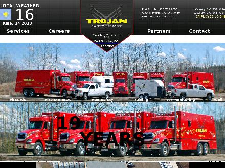 Trojan Safety Services (250-794-0910) - Onglet de site Web - http://www.trojansafety.com
