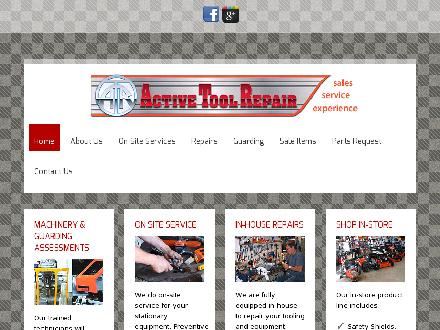 Active Tool Repair (905-545-7646) - Website thumbnail - http://www.activetoolrepair.com