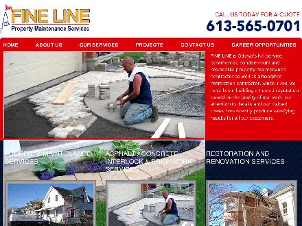 Fine Line Group (613-565-0701) - Website thumbnail - http://www.finelinegroup.ca