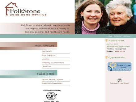 FolkStone Adult Family Care Homes (604-736-3601) - Website thumbnail -