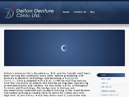 Delton Denture Clinic Ltd (604-590-1111) - Website thumbnail - http://www.deltondentures.com
