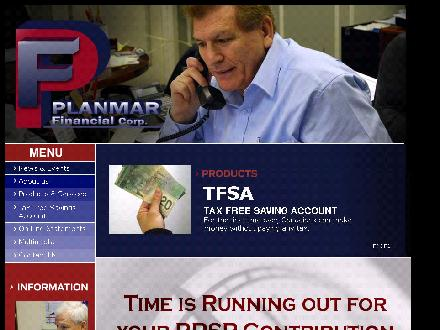 Planmar Financial Corp (519-673-3010) - Website thumbnail - http://www.planmar.net