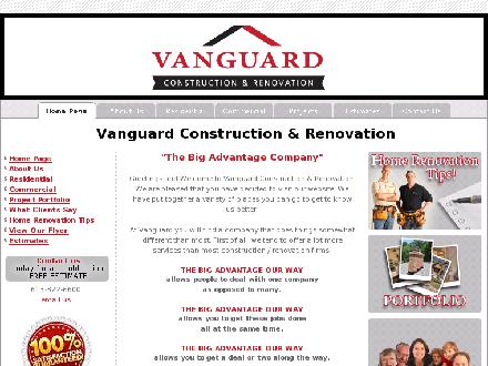 Vanguard Construction & Renovation (613-822-6600) - Onglet de site Web - http://www.vanguardconstruction.ca