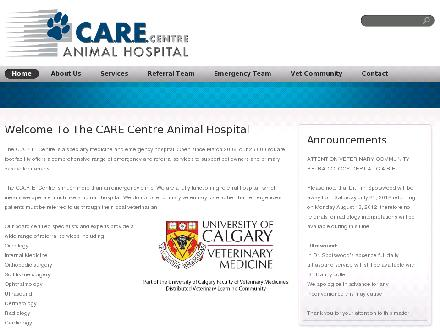 C A R E Centre Animal Hospital (403-520-8387) - Website thumbnail - http://www.carecentre.ca