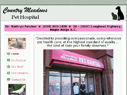 Country Meadows Pet Hospital (604-460-1428) - Website thumbnail - http://www.countrymeadowspethosp.ca