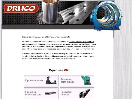 Usinage Druco Inc (514-327-5244) - Website thumbnail - http://www.druco.ca