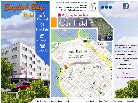 English Bay Apt Hotel The (604-685-2231) - Website thumbnail - http://www.englishbayhotel.com