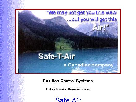 Safe-T-Air Inc (613-692-2070) - Onglet de site Web - http://www.safe-t-air.com