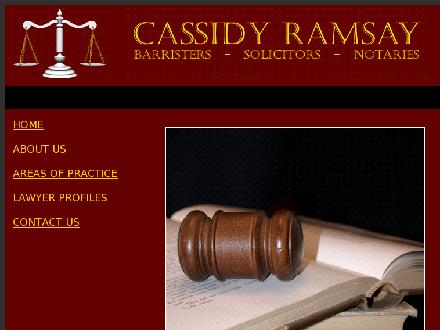 Cassidy Ramsay (204-943-7454) - Website thumbnail - http://cassidyramsay.com