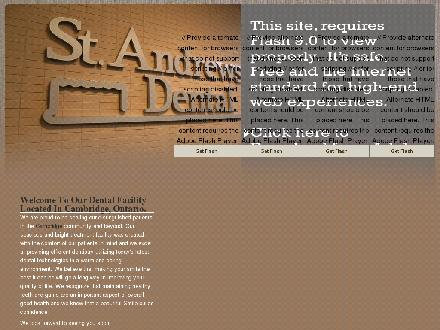 St Andrews Dental (519-623-8555) - Website thumbnail - http://www.standrewsdental.com