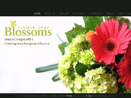 Blossoms Of Burlington (905-637-9367) - Website thumbnail - http://www.blossomsflowershop.ca