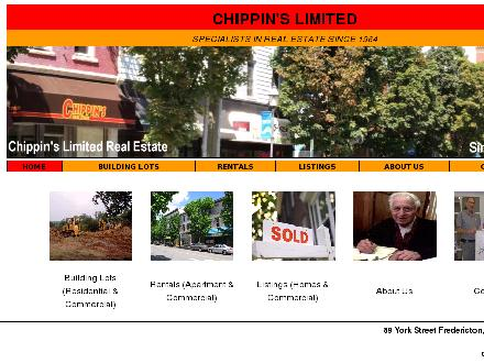 Chippin's Limited Real Estate (506-458-1994) - Onglet de site Web - http://www.chippins.com
