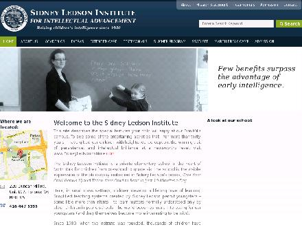 Sidney Ledson Institute (647-691-0859) - Website thumbnail - http://www.sidneyledsoninstitute.net