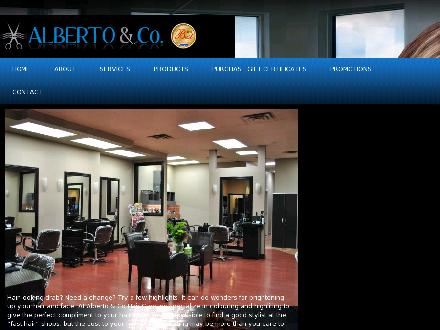 Alberto & Co Hair & Body Care (604-591-9121) - Onglet de site Web - http://www.albertoandco.com
