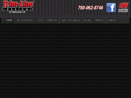 Trim-Line Design of Parkland Ltd (780-962-8746) - Website thumbnail - http://www.trim-linedesign.ca