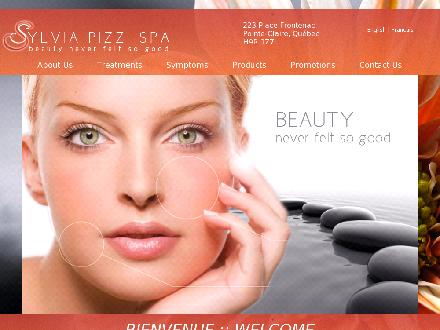 Au Spa Sylvia Pizzi (514-694-1223) - Onglet de site Web - http://www.sylviapizzispa.com