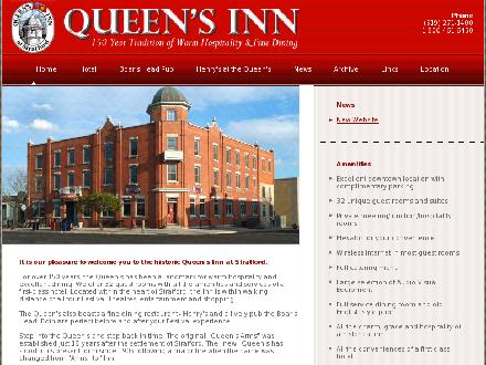 Queen's Inn At Stratford (519-271-1400) - Onglet de site Web - http://www.queensinnstratford.ca