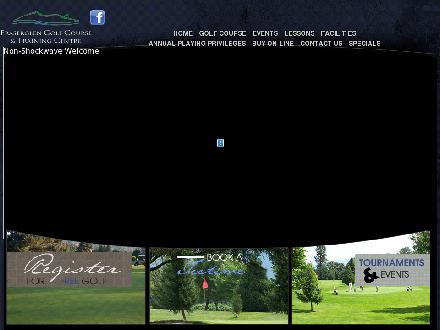 Fraserglen Golf Course & Training Centre (604-852-3477) - Website thumbnail - http://www.fraserglen.com