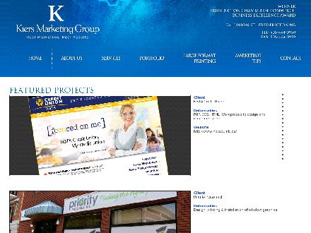 Kiers Marketing Group (506-444-0950) - Website thumbnail - http://www.kiers.com