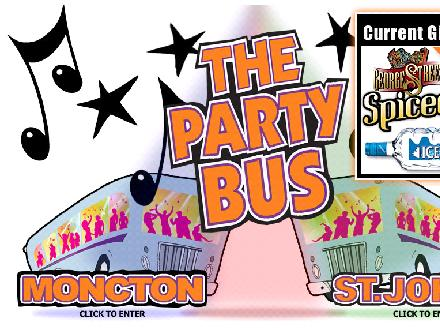 Party Bus Incorporated (709-727-8928) - Onglet de site Web - http://www.thepartybus.ca