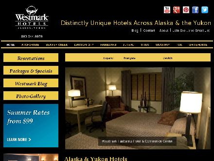 Westmark Whitehorse (867-393-9700) - Website thumbnail - http://www.westmarkhotels.com