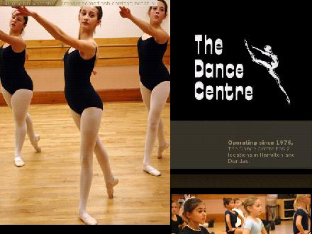 The Dance Centre (905-545-5211) - Website thumbnail - http://www.thedancecentrehamilton.ca