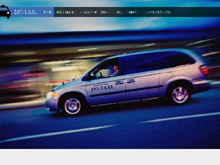 287-Taxi (250-287-8294) - Onglet de site Web - http://www.287taxi.ca
