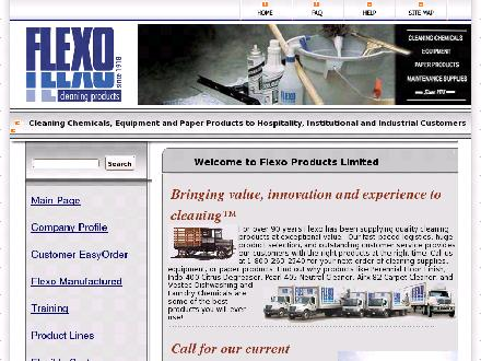 Flexo Products Limited (905-354-2723) - Website thumbnail - http://www.flexoproducts.com