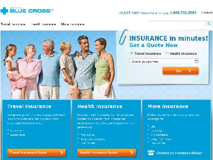 Blue Cross (1-877-895-3030) - Website thumbnail - http://www.useblue.com