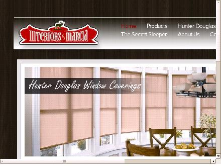 Interiors By Marcia (1-855-334-5639) - Website thumbnail - http://www.interiorsbymarcia.com
