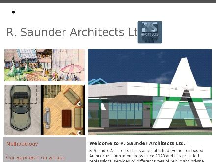 R Saunder Architects Ltd (780-488-0405) - Onglet de site Web - http://www.rsarch.com