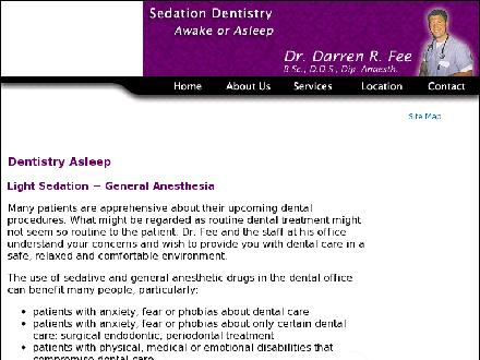 Fee Darren Dr (780-429-1711) - Website thumbnail - http://www.drfee.ca
