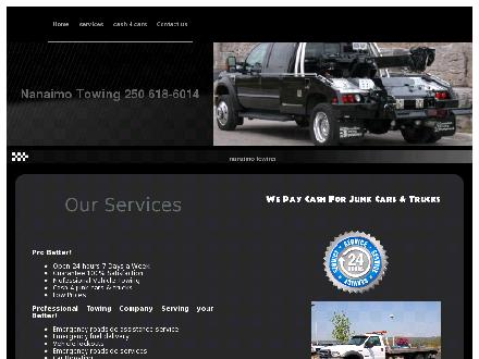 Nanaimo Towing (250-618-6014) - Website thumbnail - http://www.nanaimotowing.com
