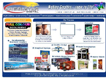 AngelStar Graphics (519-969-0712) - Onglet de site Web - http://www.angelstardigital.com