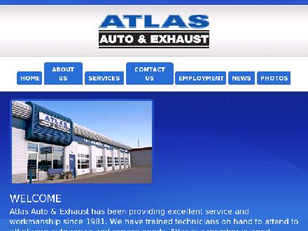 Atlas Auto &amp; Exhaust (780-438-3411) - Website thumbnail - http://www.atlasauto.ca