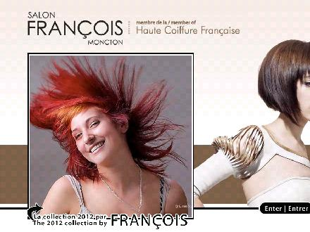 Francois Beauty Salon (506-855-4396) - Website thumbnail - http://www.francoisbeautysalon.com