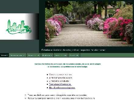 C&ocirc;t&eacute; Jardins Urbains (514-607-7331) - Onglet de site Web - http://www.jardinsurbains.ca