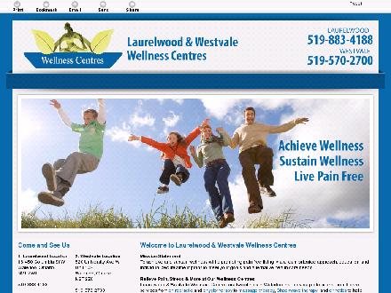 Laurelwood Chiropractic Wellness (519-883-4188) - Website thumbnail - http://bepainfree2.com/